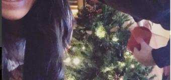 Giulia De Lellis: il primo albero di Natale con Andrea