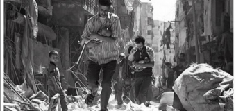 Nilperi Sahinkaya (Seyma) condivide coi fan una fotografia di Aleppo