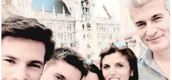 Serkan presenta a tutti la sua bella famiglia