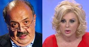 Uomini e Donne Gossip, Maurizio Costanzo contro Tina Cipollari
