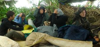 Vento forte nel ventiquattresimo giorno sull'Isola dei Famosi 2017