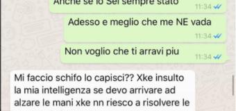 Daniela pubblica le chat che incastrano Andrea Marcaccini