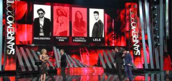 Sanremo 2017, la terza serata con le eliminazioni di alcune Nuove Proposte
