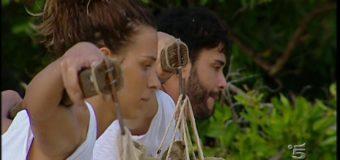 La prova leader e le nuove nomination durante la seconda puntata dell'Isola dei Famosi 2017