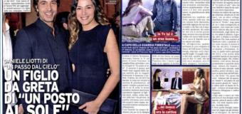 Daniele Liotti sarà di nuovo padre: un figlio in arrivo da Cristina D'Alberto