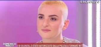 Arisa a Domenica Live parla della truffa subita da parte di Alberico Lemme