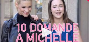 10 domande esclusive a Michelle Hunziker fatte da sua figlia Aurora