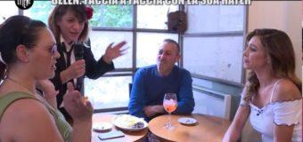 Belen Rodriguez incontra di persona la sua hater numero uno