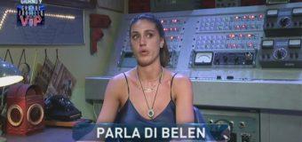 Cecilia al GF Vip si commuove: Belen mi ha fatto da mamma