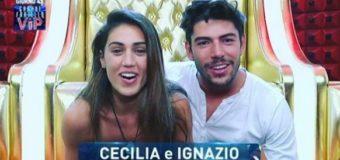 GF VIP 2 lo scandalo hot: Cecilia e Ignazio squalificati?