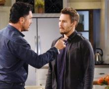 Anticipazioni Beautiful puntata 17 maggio: Liam ricatta Bill