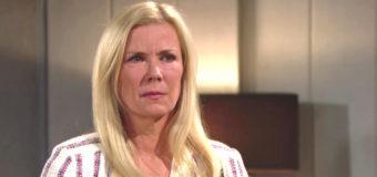 Anticipazioni Beautiful puntate dal 5 al 10 novembre 2018: il sospetto di Brooke